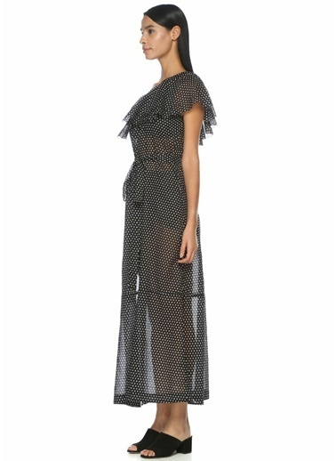 Lisa Marie Fernandez Plaj Elbisesi Siyah
